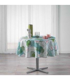 Nappe ronde Attrape-rêves et palmier diamètre 180 cm Polyester -