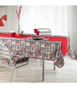 Nappe anti-tache rectangle 150x240 cm sweet love -