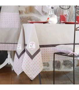 Nappe rectangle 150 x 250 cm Coton Chick -