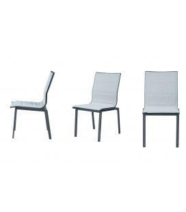 Lot de 2 chaises extérieur TULA