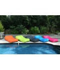 Transat gonflable de piscine Wave - 5 coloris -