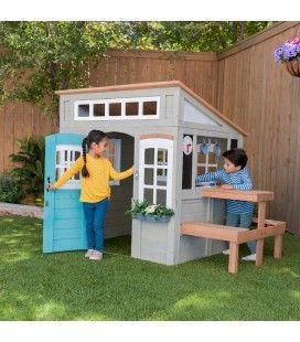 Maisonnette de jardin en bois pour enfants