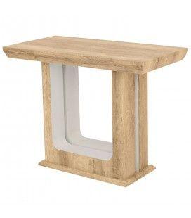 Table extensible en bois 250cm bois chêne Clair Hully