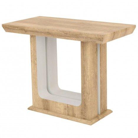 Table extensible en bois 250cm Chêne Clair Hully -