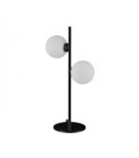 Lampe à poser deux globes Edmond noire
