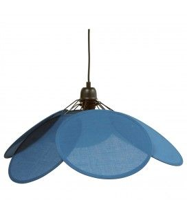 Suspension Evasion coton bleu avec système électrique noir