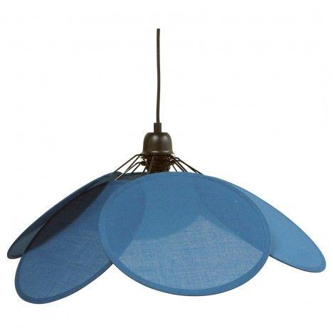 Suspension Evasion coton bleu avec système électrique noir -