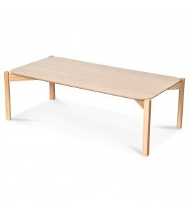 Table basse chêne naturel 100cm -