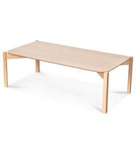 Table basse chêne naturel 100cm