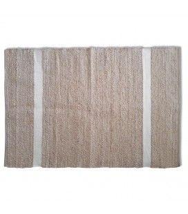 Tapis style berbère Minimaliste blanc l.160xL.230cm -