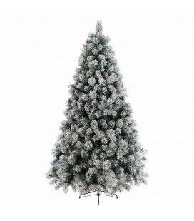 Sapin de Noël artificiel antifeu enneigé 180 cm