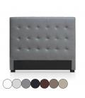 Tête de lit capitonnée en simili cuir 140 cm Luxy - 6 coloris -