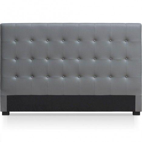 Tête de lit capitonnée en simili cuir 180 cm Luxy - 6 coloris -