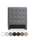 Tête de lit capitonnée en simili cuir 90 cm Luxy - 6 coloris -