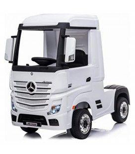 Voiture enfant mini routier Camion poids lourd blanc ou rouge