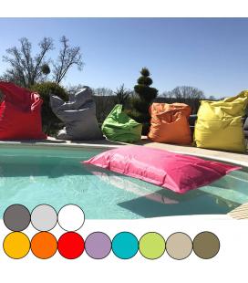 Coussin géant flottant pour piscine 140x180cm Maxi - 10 coloris -