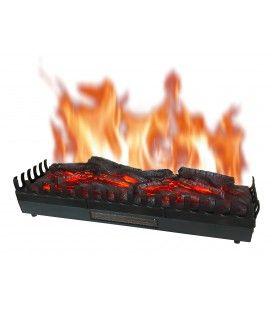 Foyer de cheminée électrique XL effet flammes 2000w