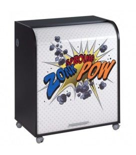 Bureau informatique sur roulettes 4 coloris CARTOON