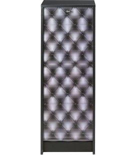 Classeur de rangement à rideau CAPITONNE 105 cm - 3 coloris -