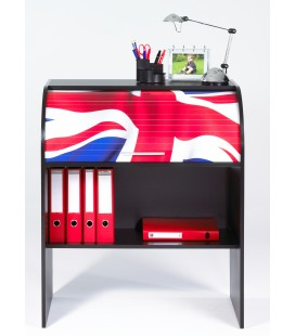 Bureau informatique junior à rideau coulissant LONDON