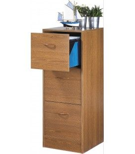 rangement de bureau dossiers suspendus 3 tiroirs. Black Bedroom Furniture Sets. Home Design Ideas