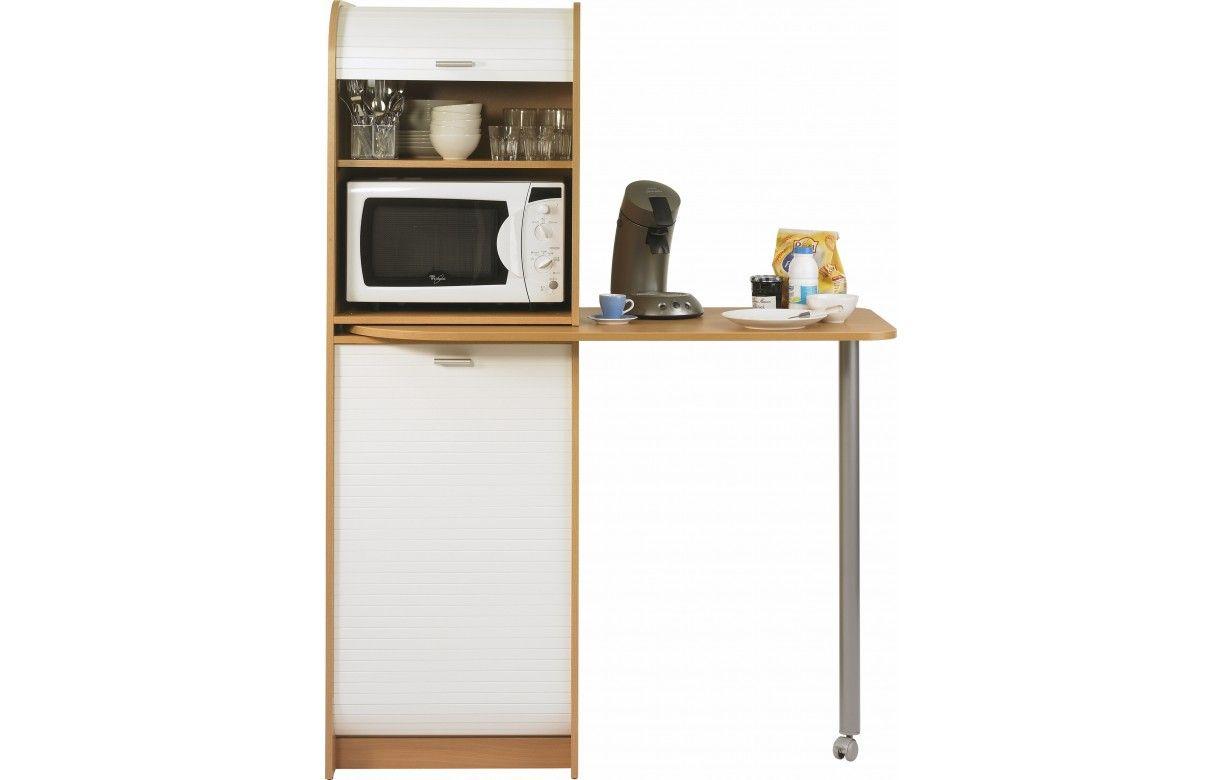 meuble de cuisine avec table pivotante et rangements. Black Bedroom Furniture Sets. Home Design Ideas