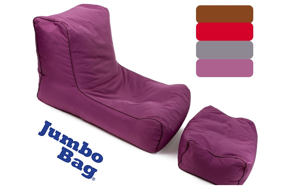 coussin pouf g 233 ant lazy jumbobag