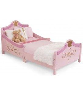 Lit petite fille rose Princesse