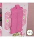 Lit petite fille rose Maison de poupée -