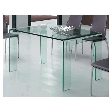 Table à manger en verre Burak -