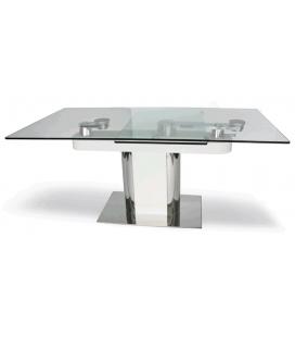 Table de repas en verre LUXY