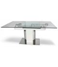 Table de repas en verre LUXY -