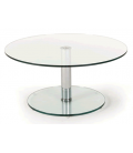 Table basse articulée en verre Berenice -
