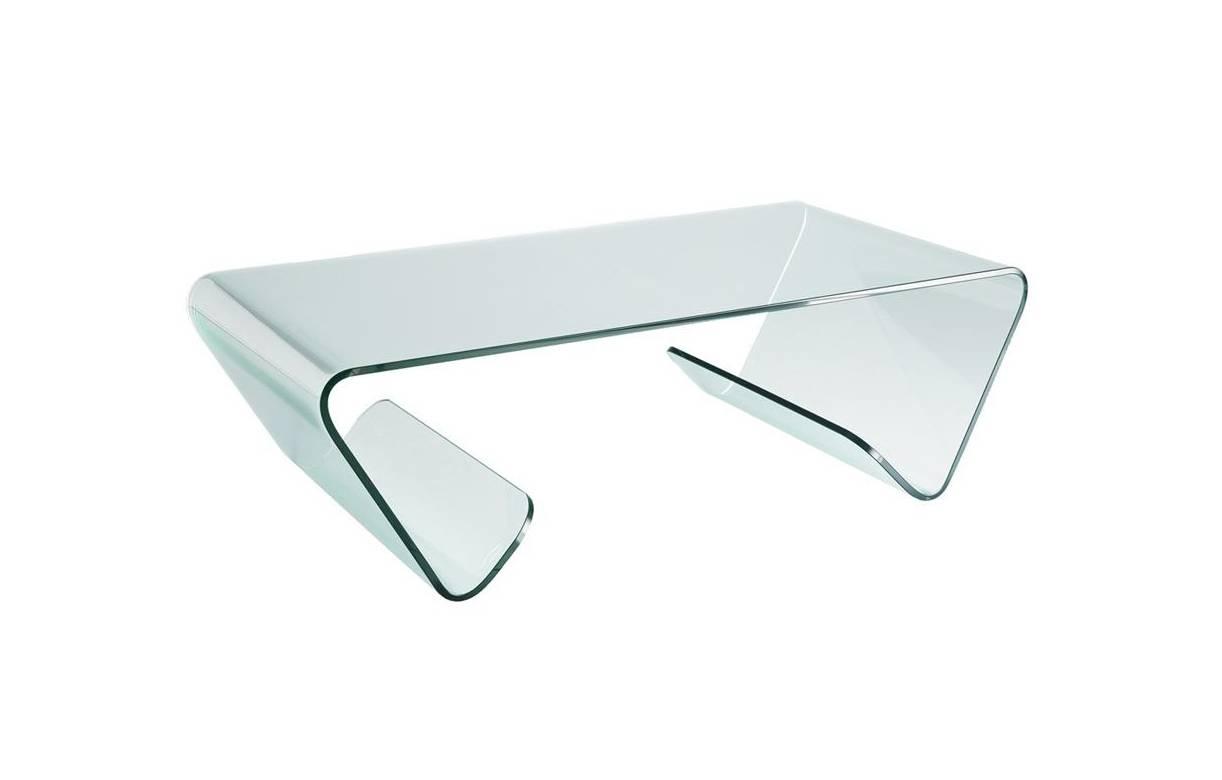 Table basse en verre design haut de gamme - Table basse tout en verre ...