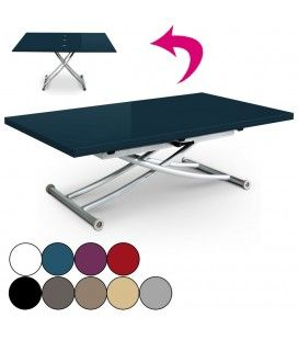 Table basse plateau relevable decome store - Table basse depliable ...
