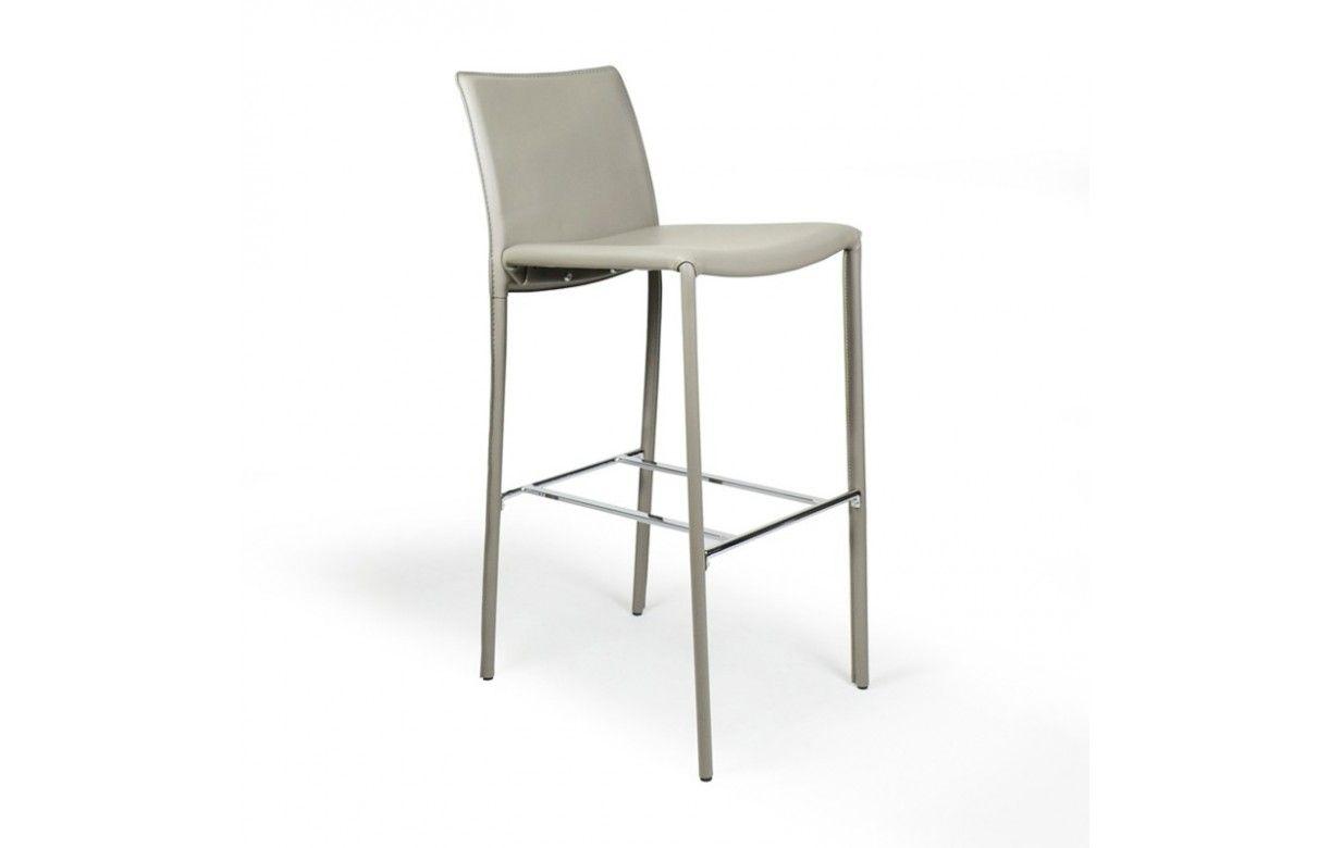 chaise de bar tabouret en simili cuir simplio 5 coloris decome store. Black Bedroom Furniture Sets. Home Design Ideas