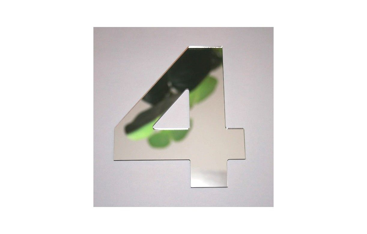 Miroir chiffre arial 4 decome store for Miroir store