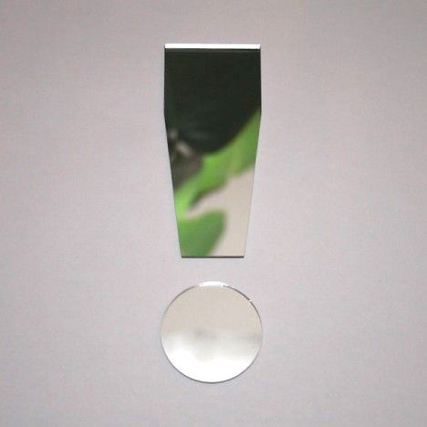 Miroir point d'exclamation ! arial -