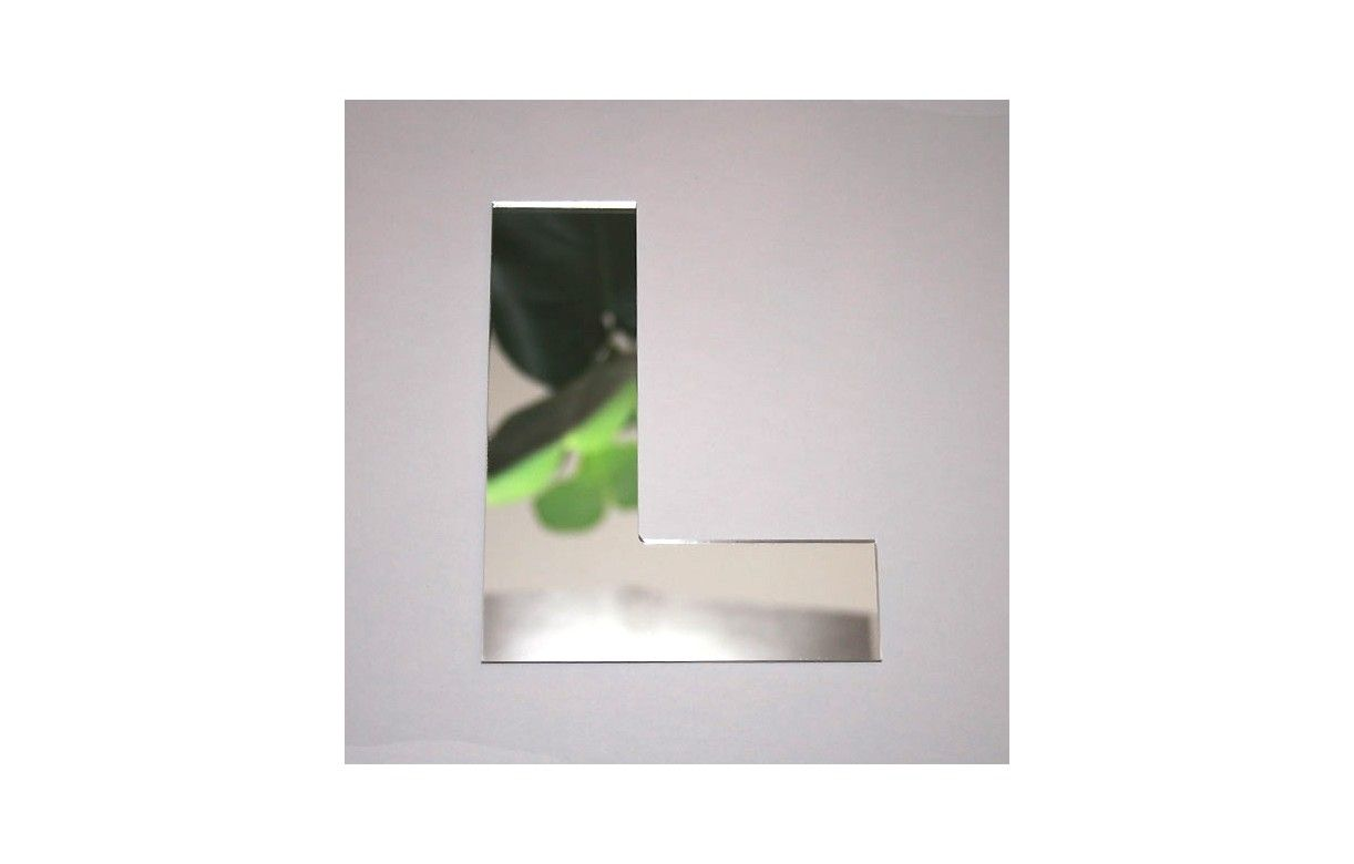 Miroir lettre arial l adh sif decome store for Miroir store