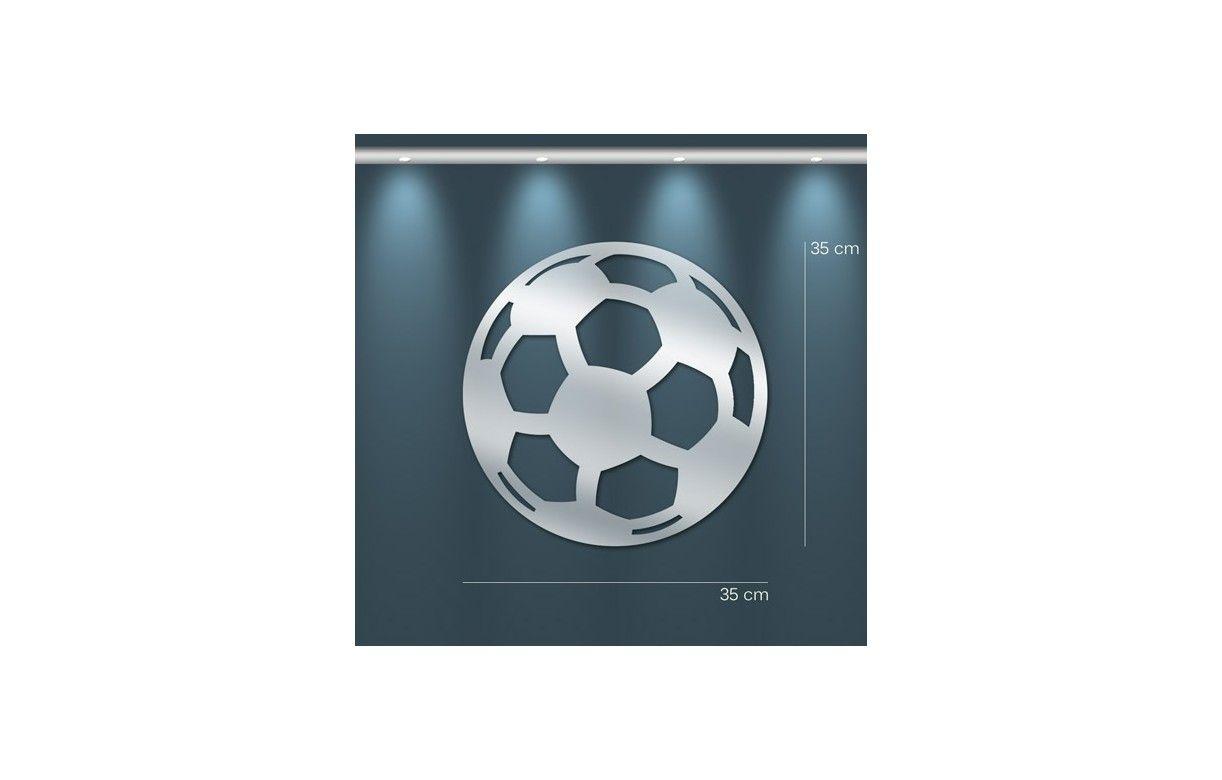 Miroir d coratif ballon de football 3 dimensions for Miroir decoratif