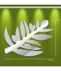 Miroir décoratif rameau d'olivier - 2 dimensions -
