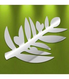 Miroir décoratif rameau d'olivier - 2 dimensions