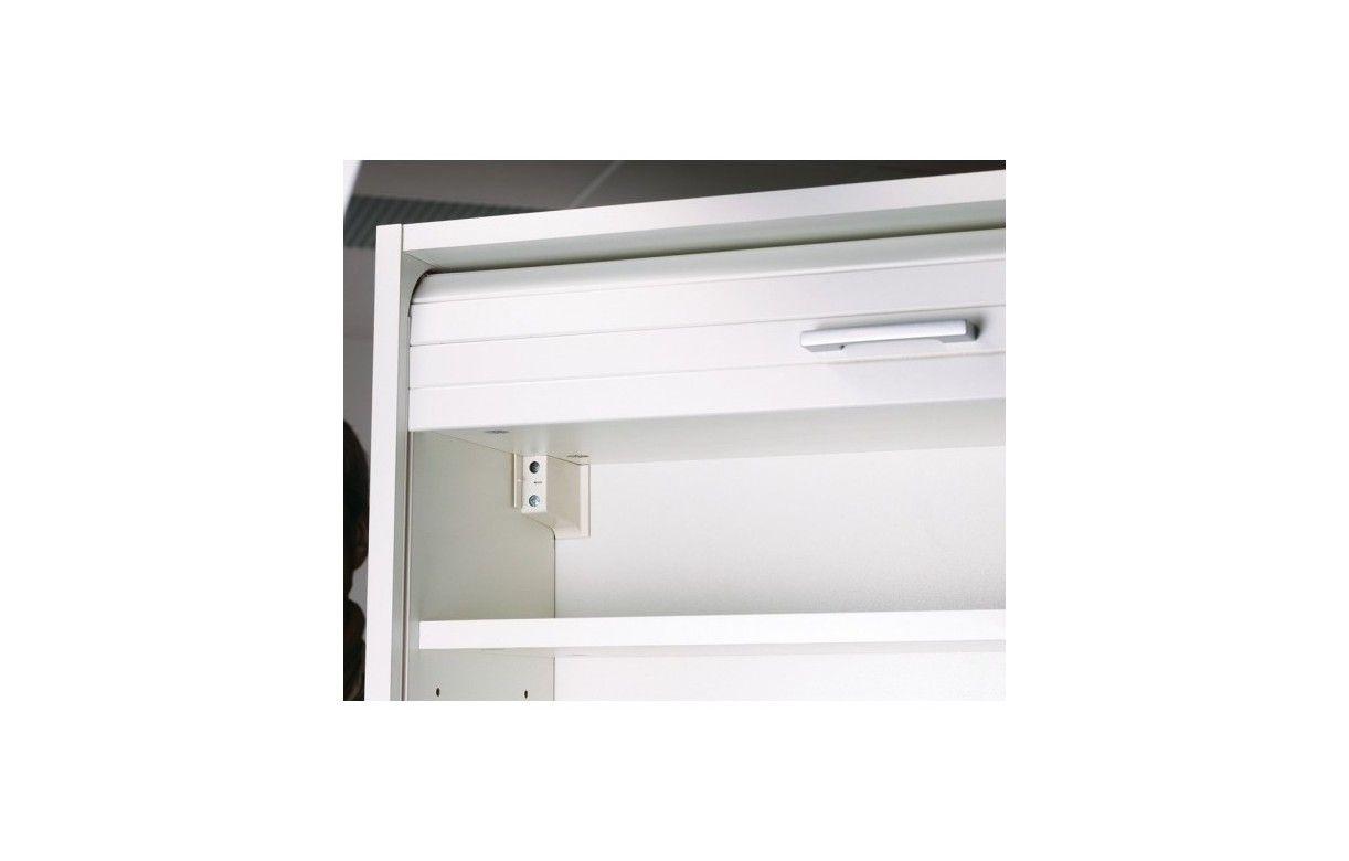 Charming Rangement De Cuisine Aluminium Avec Rideau D Roulant Largeur 60cm ~ Rideau  Alu Pour Meuble Cuisine