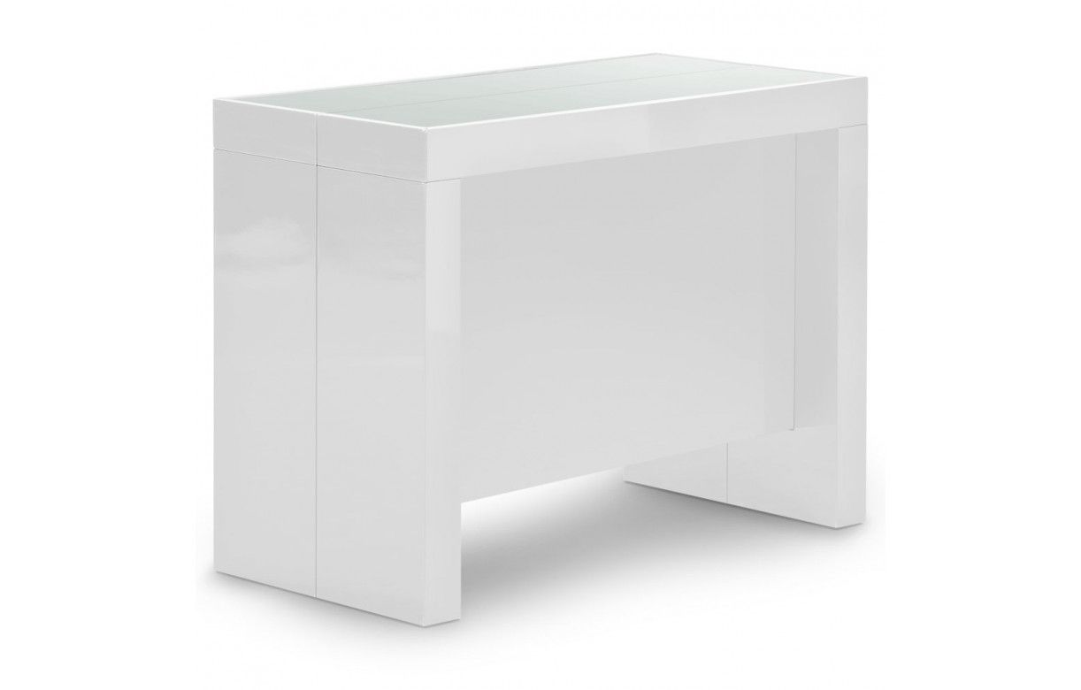 Console extensible avec rallonges int gr es pandora 5 for Table a manger design italien