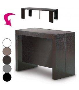 Console extensible avec rallonges intégrées Pandora - 5 coloris