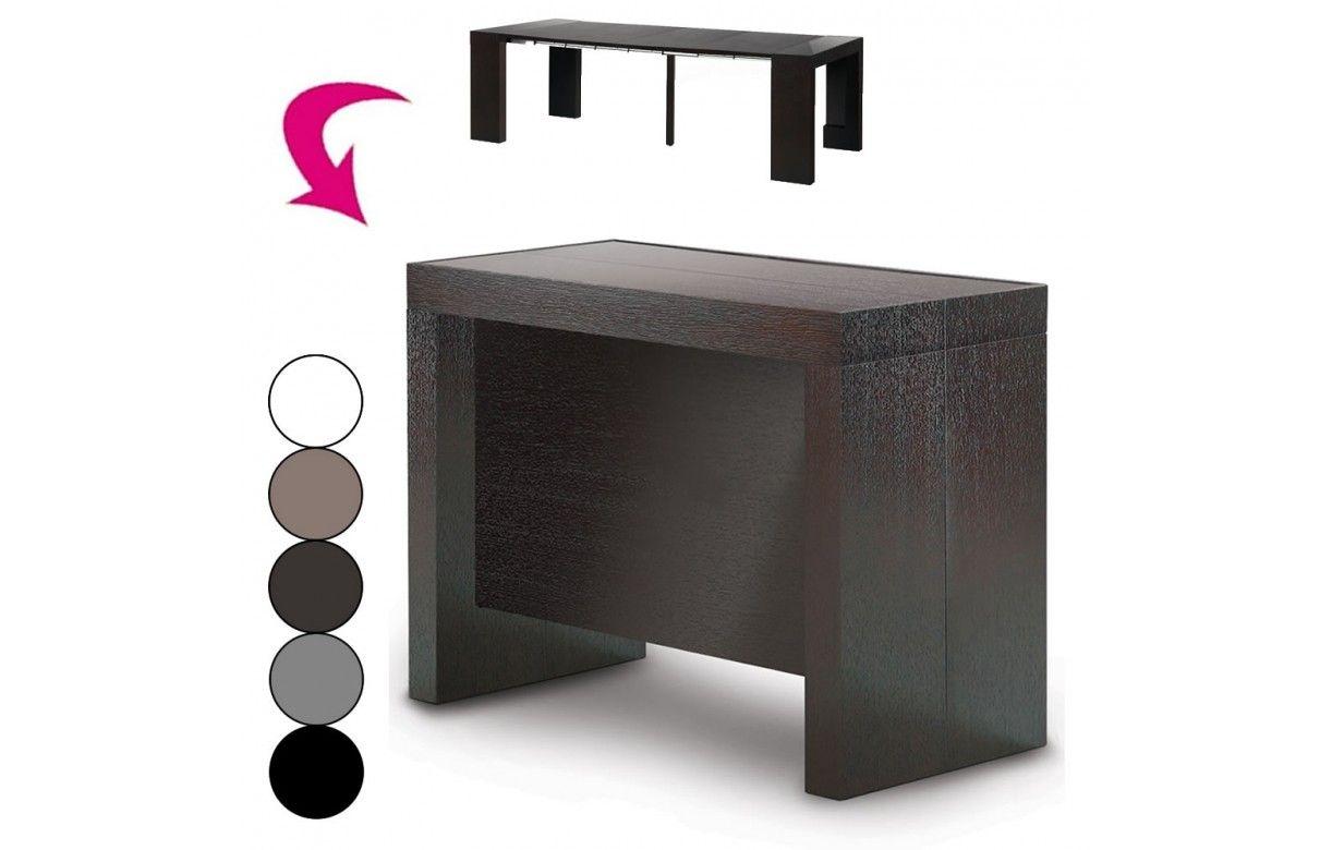 Console Extensible Avec Rallonges Integrees Pandora 5 Coloris Decome Store
