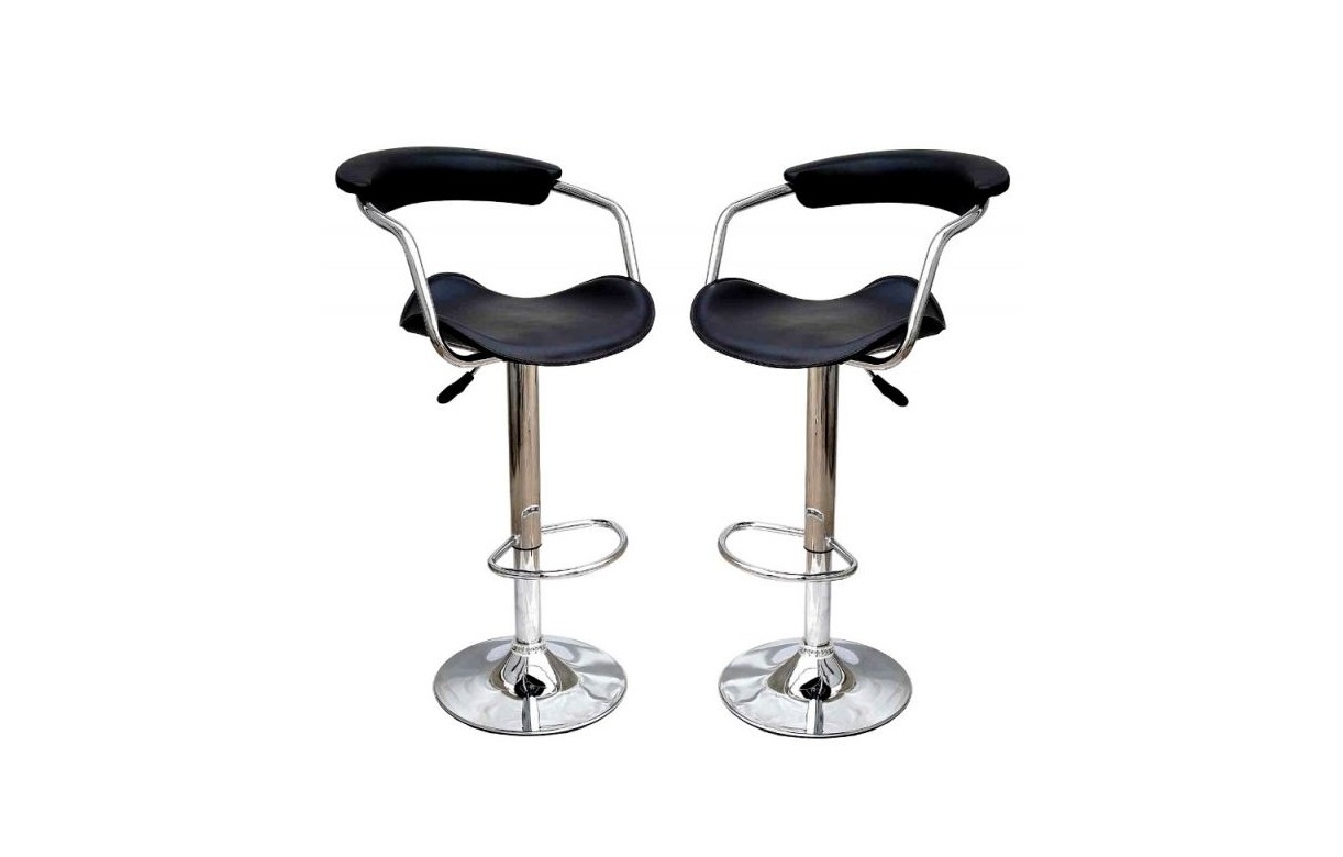 tabouret de bar rouge noir ou blanc simili cuir cavaly set de 2 decome store. Black Bedroom Furniture Sets. Home Design Ideas