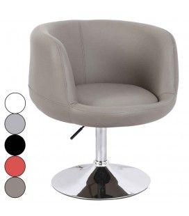 Fauteuil design en simili cuir réglable Fury - 5 coloris -