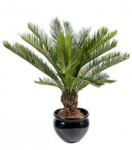 Plante artificielle tropicale Palmier Cycas 90 cm