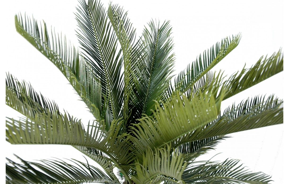 Plante artificielle tropicale palmier cycas 90 cm decome for Palmier artificiel interieur